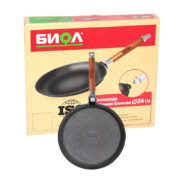 Cast iron crepe pan 04221