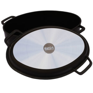 Poultry roaster with frying lid* (grill) Г301П
