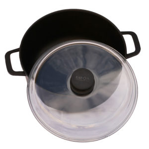 Casserole with glass lid K201PC