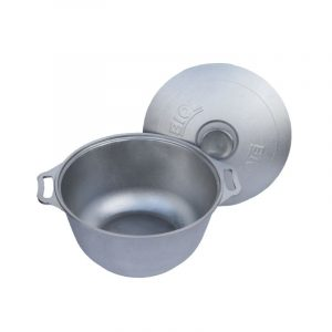Casserole with thick bottom and lid K0251