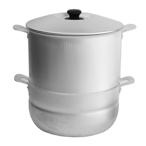 Cooking pot for dumplings with 4 discs 180645