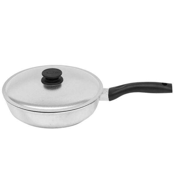 Frying pan «Shine» with lid 2007BK