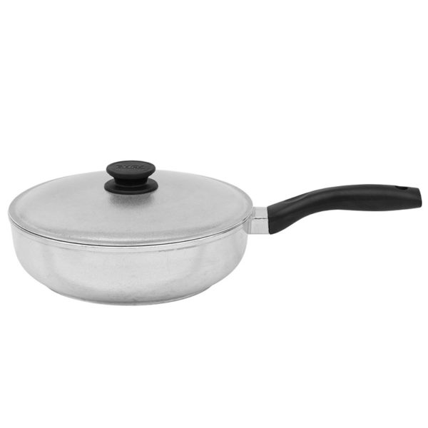 Frying pan «Shine» with lid (saucepan) 2209БК