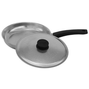 Frying pan «Shine» with lid 1804BK