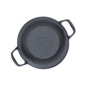 Cast iron casserole with frying lid 0203