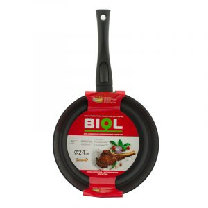 Frying pan «Classic» with detachable bakelite handle and glass lid 24071PC