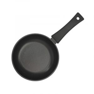 Frying pan Optima with glass lid 1804ПС