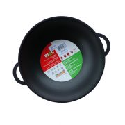 Frying pan WOK with glass lid 2803PC