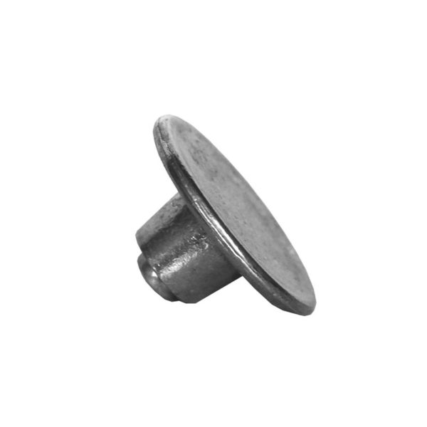 Small metal knob for lid