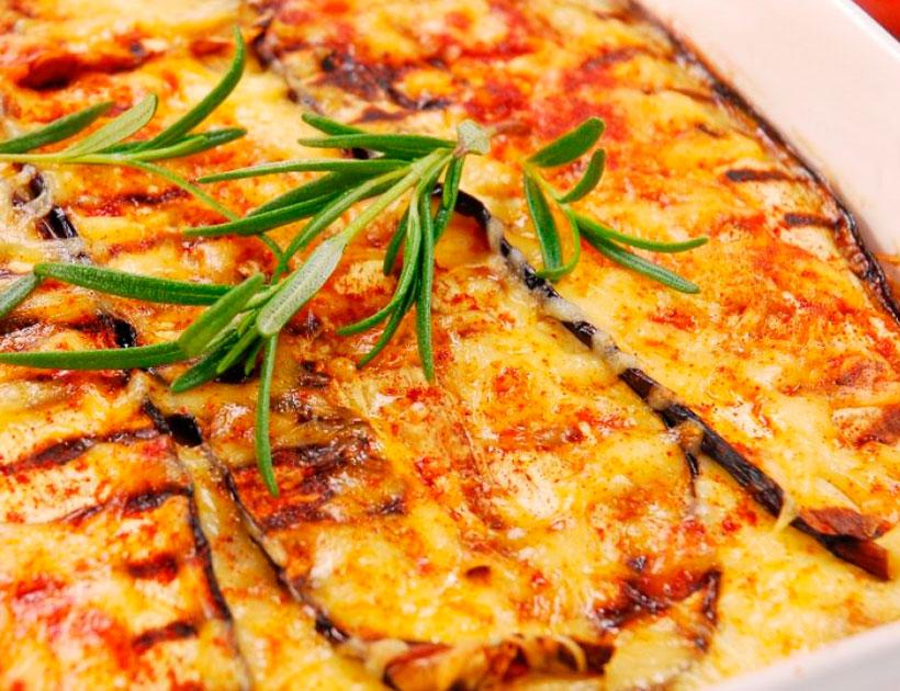 Жирные баклажаны по-пармски запеченные с сыром