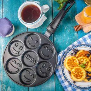 Сковороди для оладок і млинців