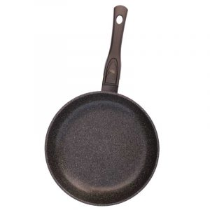 Frying pan «Granite brown» with detachable handle with soft touch coating, without lid 24133П