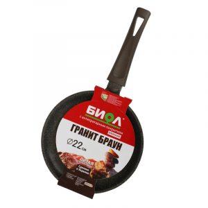 Сковорода блинная «Гранит браун» 3