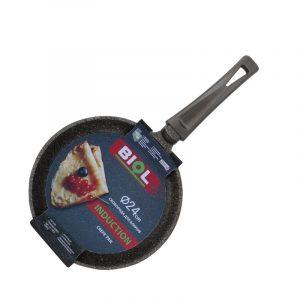Сковорода блинная Induction с ручкой Soft-touch с индукционным дном 24084I