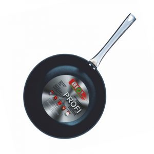 Frying pan with non-stick coating WOK Profi 2818H