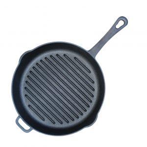 Сковорода-гриль чугунная 1124
