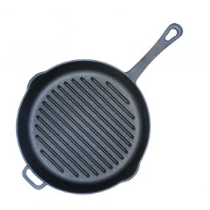 Сковорода-гриль чавунна 1124