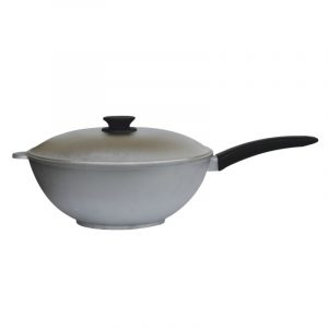 Cast aluminum frying pan WOK 3002K