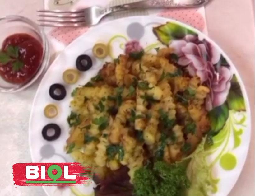 Картопля-фрі в WOK Граніт Грей - TM BIOL 2019