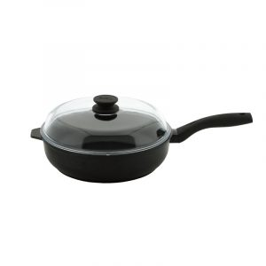 Frying pan «Elegant» with glass lid 2209PC
