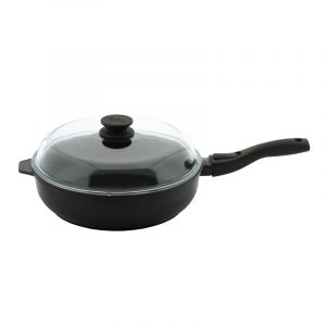 Frying pan Elegant with detachable handle and glass lid 26091PC