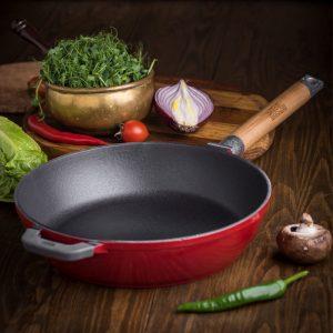Сковороди з емальованим покриттям